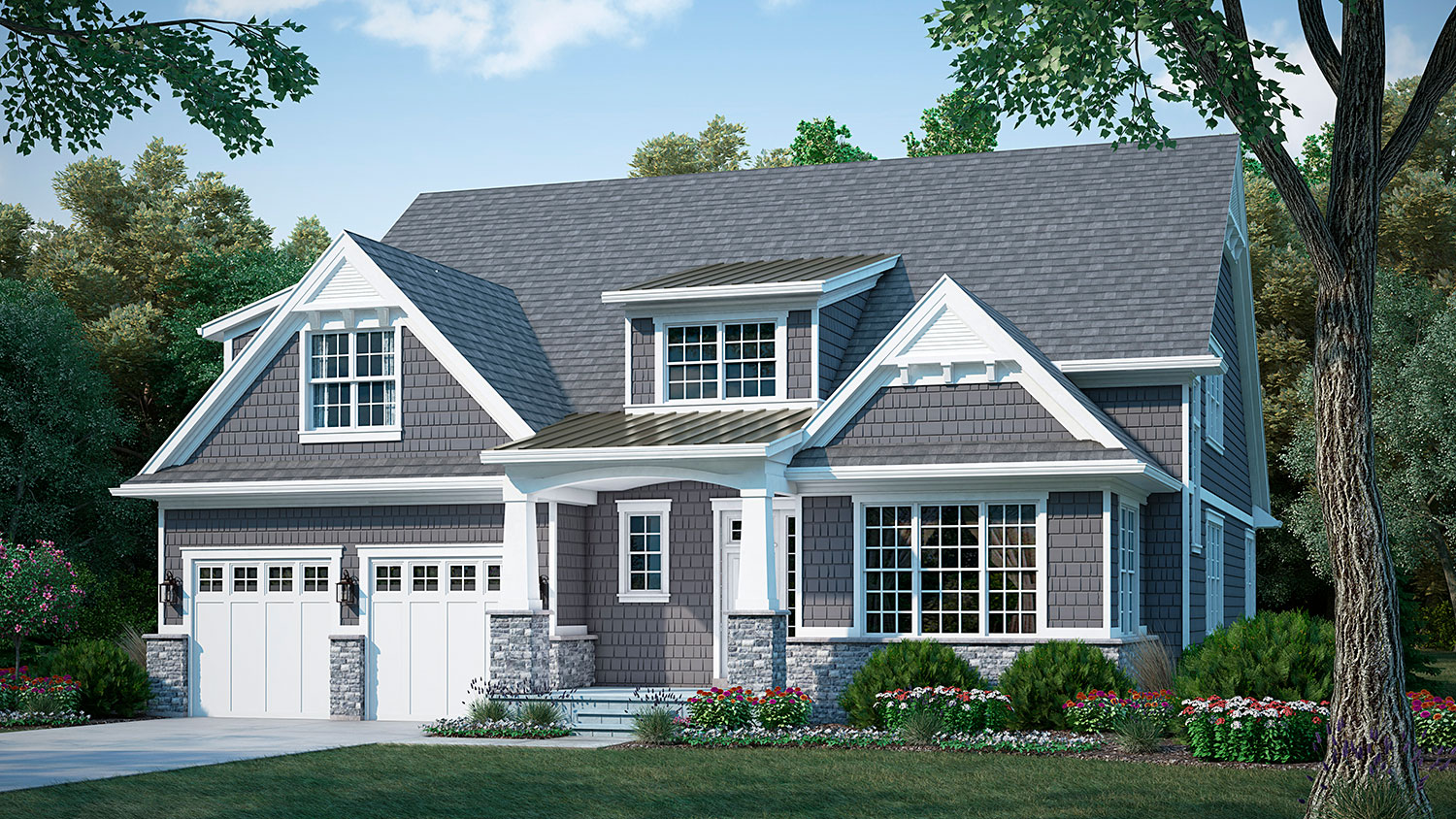 hinsdale meadows torrington shingle front elevation